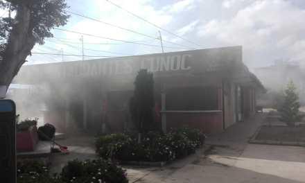Reportan incendio en el Cunoc
