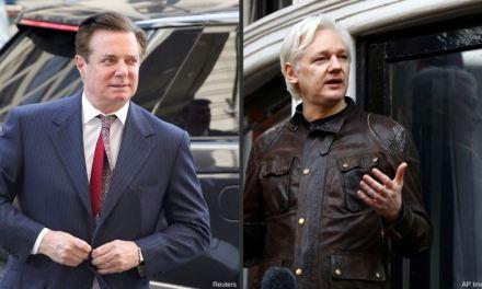 Manafort niega reporte de que se reunió con Julian Assange