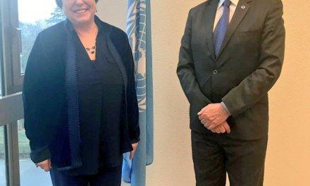 ¿Qué aborda Iván Velásquez con Michelle Bachelet?
