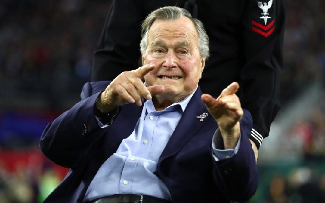 Internacionales: Falleció  George H. W. Bush