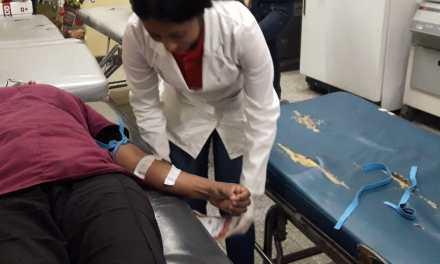 Solicitan apoyo para Banco de Sangre