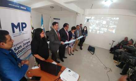 Inauguran sedes del MP en Quetzaltenango