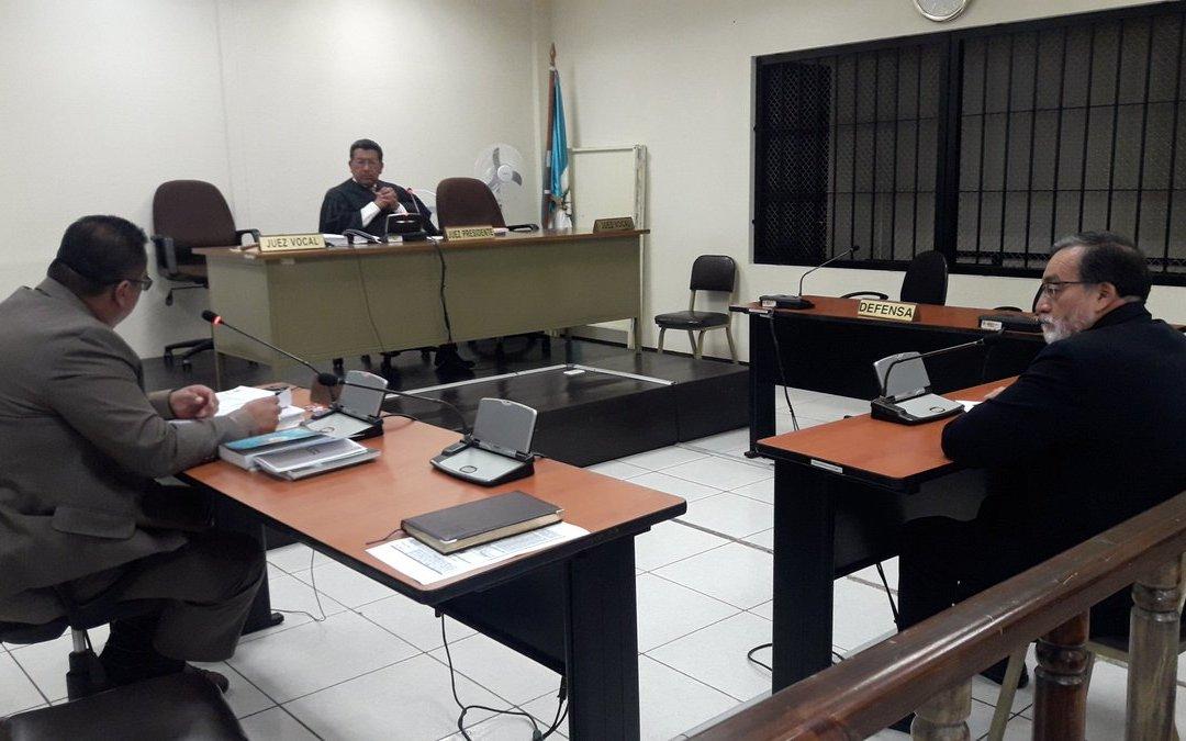 Tras denuncia de la Contraloría General de Cuentas, Grijalva declara en proceso de antejuicio
