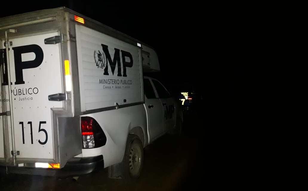 Localizan cadáver en el camino que conecta con la Aldea San José Pachimacho