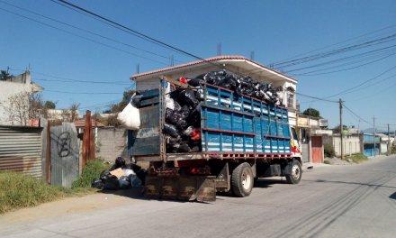 No habrá recolección de basura en Xela, el 25 de diciembre y 1 de enero