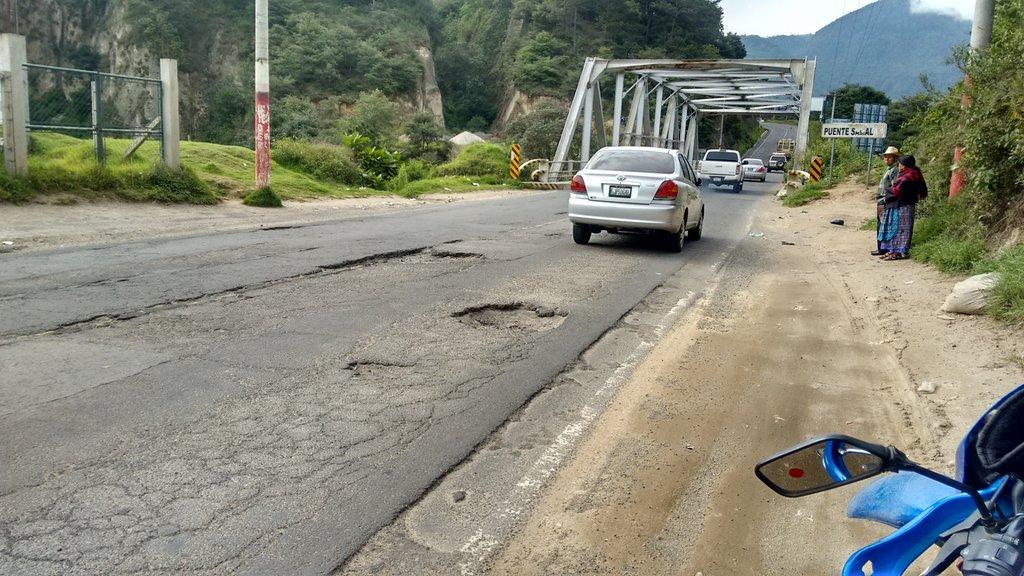 Vecinos amenazan con bloquear sino resuelven reparaciones en ruta Cito Zarco