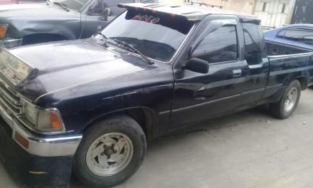 PNC localiza vehículo robado hace 3 años