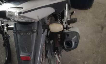 PNC recupera motocicleta casi un año después de ser robada