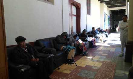 Personas de la tercera edad destinados a un asilo