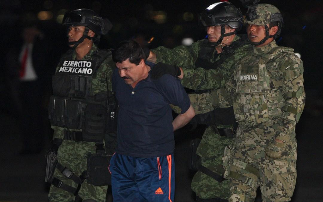 """Así se define el futuro del """"Chapo"""" Guzmán"""