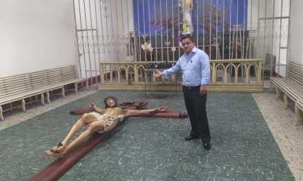 Pedirán ayuda para instalación de imagen en la capilla del Cementerio General