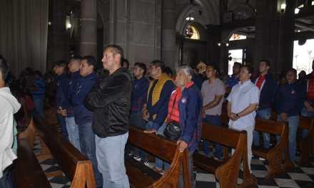 Misa en Catedral por el aniversario 77 del Xelajú