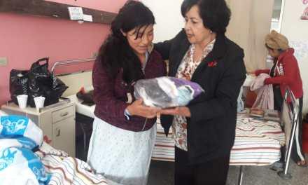 María Elena Camposeco de Ralón: «Nos sentimos muy agradecidos con Dios y ustedes»