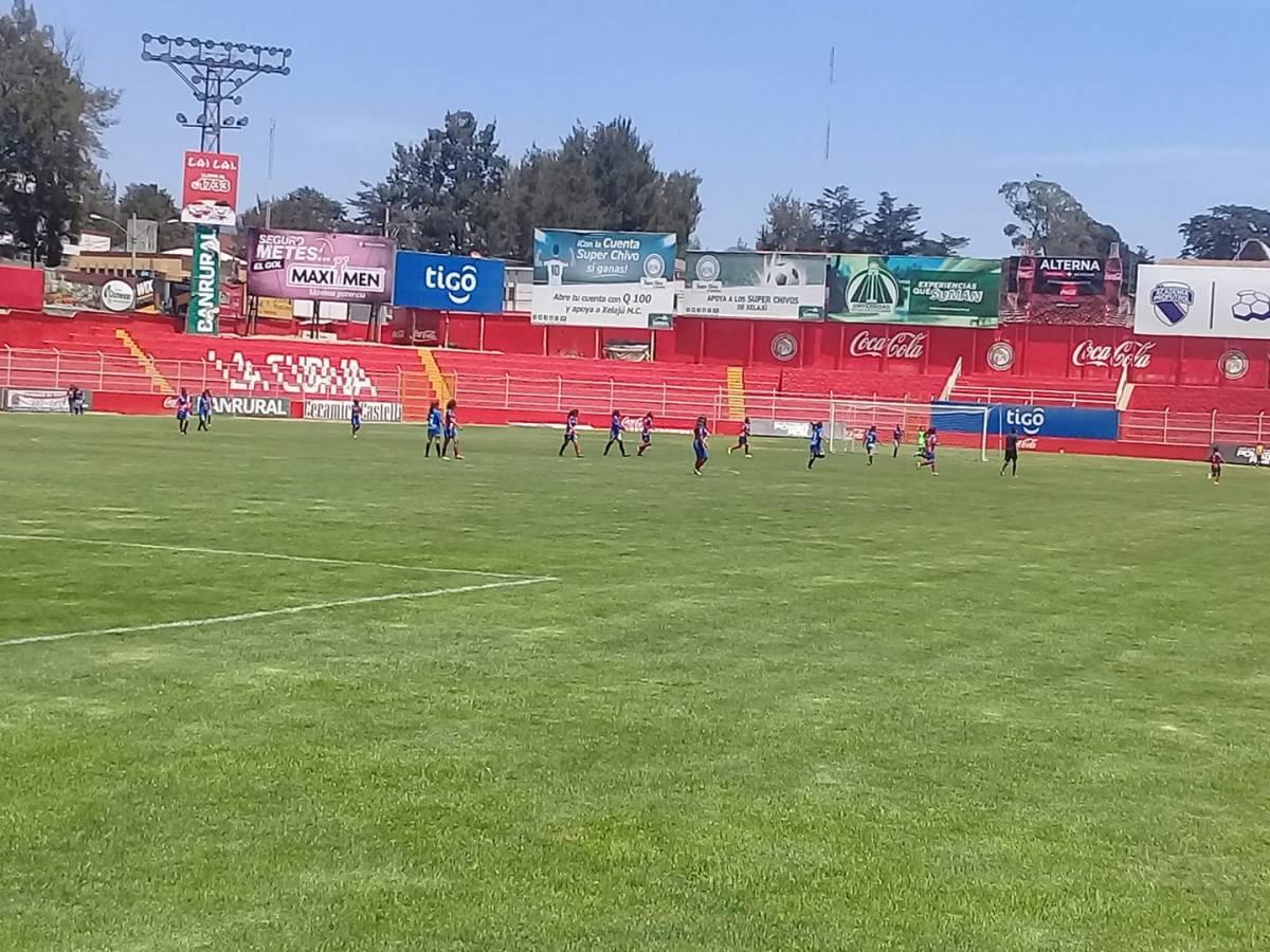 Deportivo Xela no tiene piedad de Malacateco