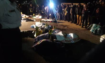Tragedia en Nahualá, más de 30 personas mueren atropelladas