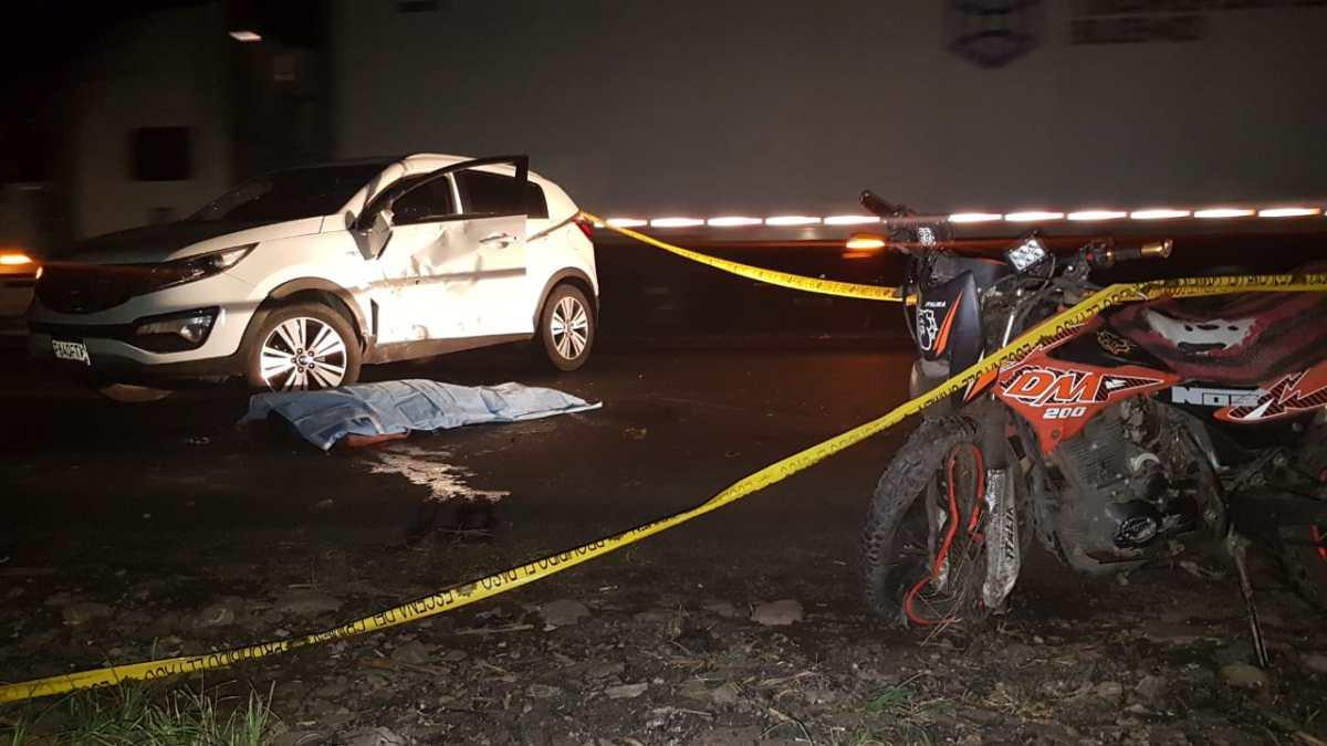 Motoristas mueren en ruta Reu - Mazate