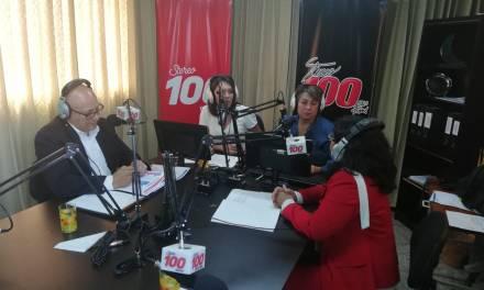 Maria Teresa Castillo de WINAQ y Jesús Cifuentes de VAMOS en #YoDecido100