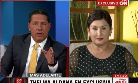 Aldana: «El pacto de corruptos intentará bloquear mi participación»