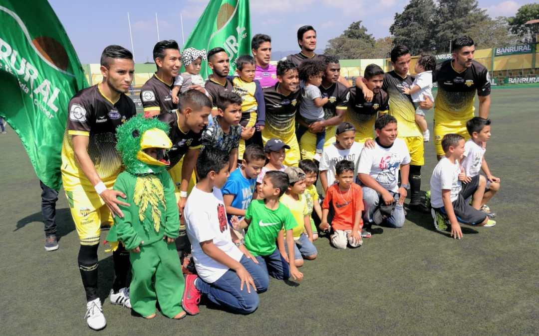 Petapa se despedirá de la Liga Nacional jugando con juveniles