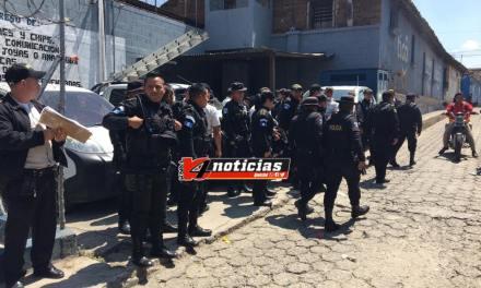 Guardias capturados tras operativo contra extorsiones en el Preventivo de Quiché