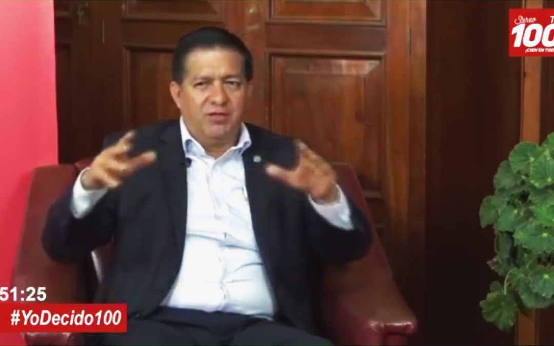 Natan Rodas, de Prosperidad Ciudadana, en #YoDecido100