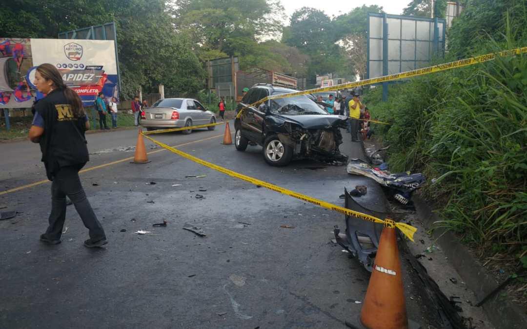 Un fallecido tras accidente en Mazatenango