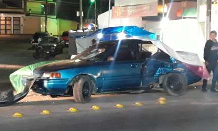 Accidente deja dos hermanos heridos