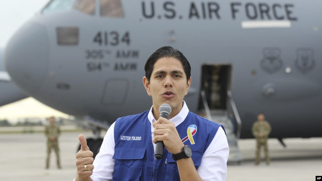 Funcionario de Guaidó: Unos 10 mil venezolanos se benefician de la ayuda humanitaria