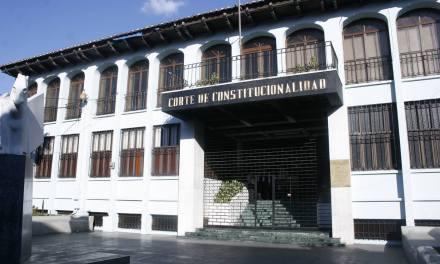 Corte de Constitucionalidad define fechas para conocer expedientes de candidatos