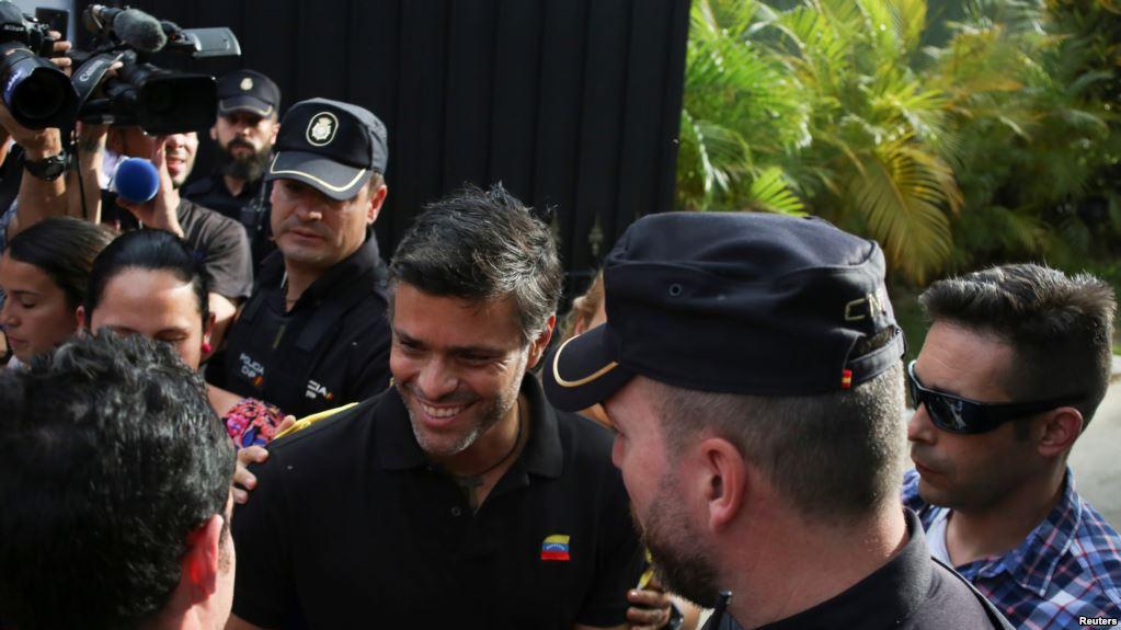 Leopoldo López: Lo ocurrido el 30 de abril no fue un golpe de estado