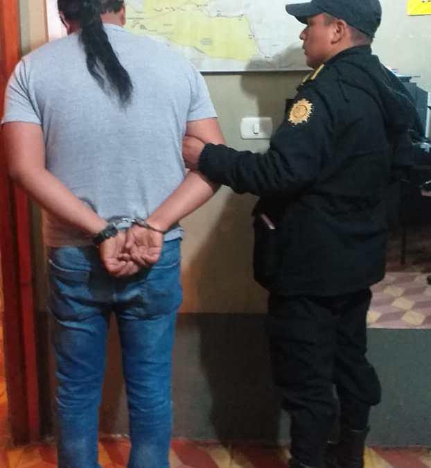 Capturado por portar arma de fuego sin licencia