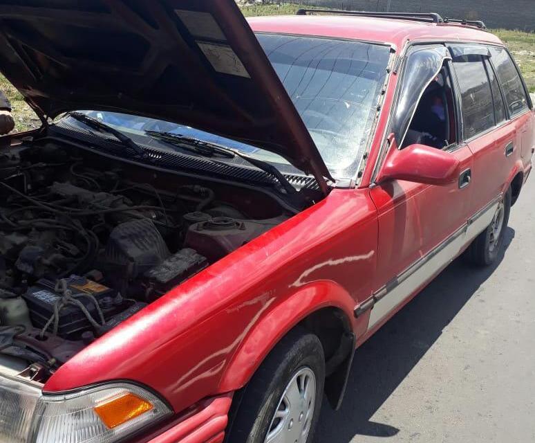 Capturan en Salcajá a hombre que conducía vehículo robado