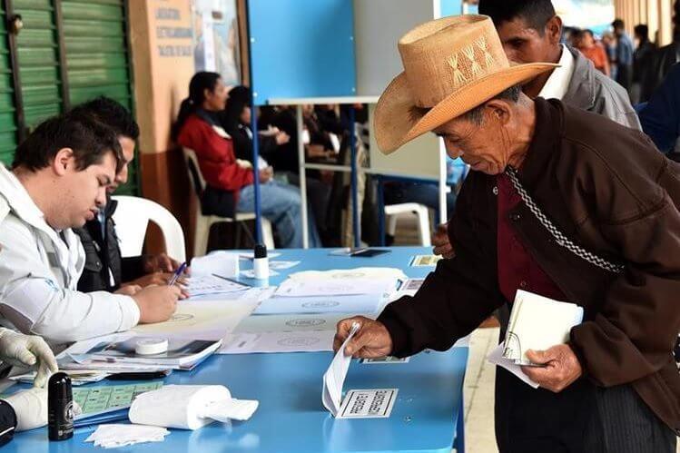 Padrón electoral en Quetzaltenango para las Elecciones Generales 2019