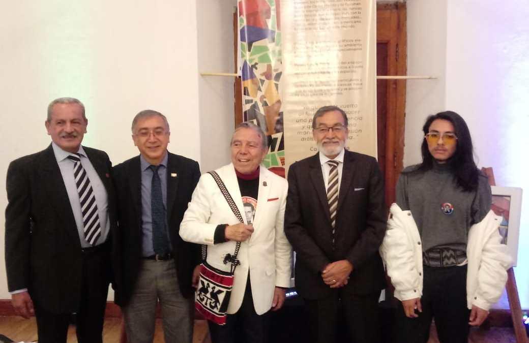 Trabajaron inspirados en obra de muralista quezalteco, Carlos Mérida
