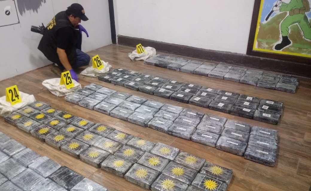 Incautan droga valorada en Q92 millones 342 mil