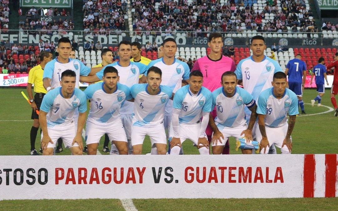 Guatemala pierde en su visita a Paraguay