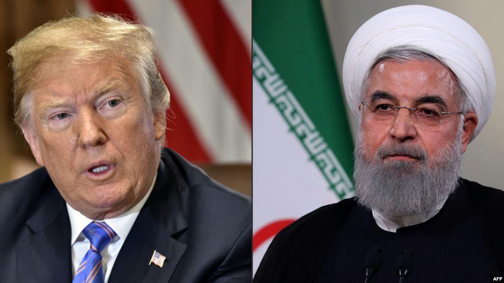 Trump dice que buque de guerra EE.UU. destruyó dron iraní, Irán lo niega