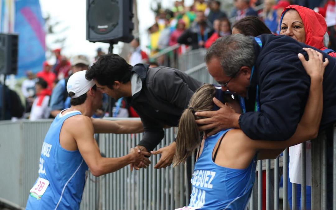 Charles Fernández y Ximena Diéguez logran medalla de bronce para Guatemala