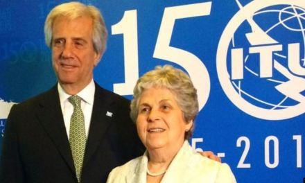Muere esposa del presidente de Uruguay a los 82 años