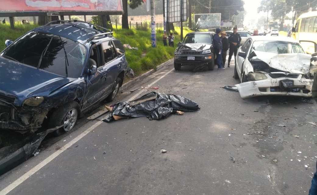 Otro accidente trágico en Xela. Ahora en salida a San Marcos