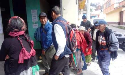 Comuna de San Juan Ostuncalco, brinda acompañamiento en el programa del Aporte Económico Adulto Mayor