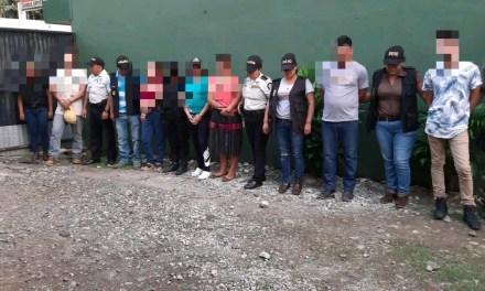 14 capturados y 103 máquinas tragamonedas incautadas en Coatepeque