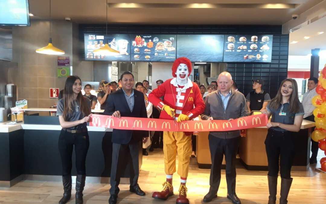 McDonald's inauguran sexto restaurante en Quetzaltenango