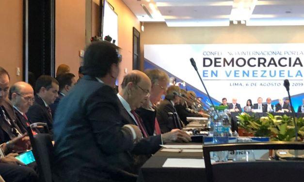 Perú: La región no puede seguir siendo afectada por el peso de la crisis en Venezuela