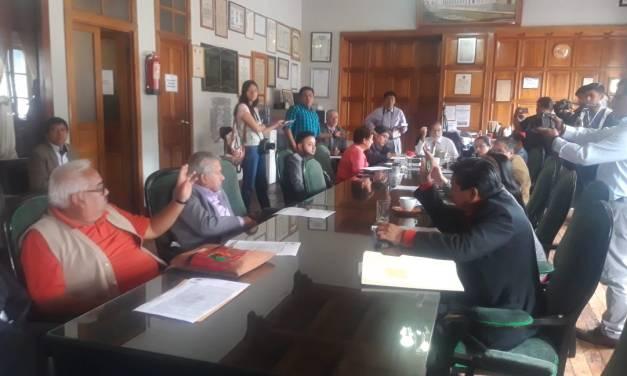Concejo Municipal avala uso del Teatro Municipal para elecciones de feria