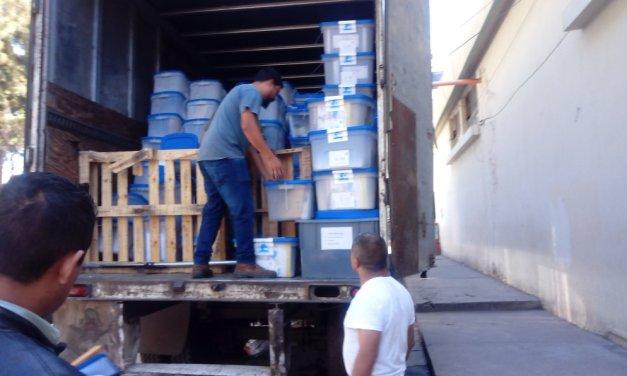 Llegan papeletas a Quetzaltenango