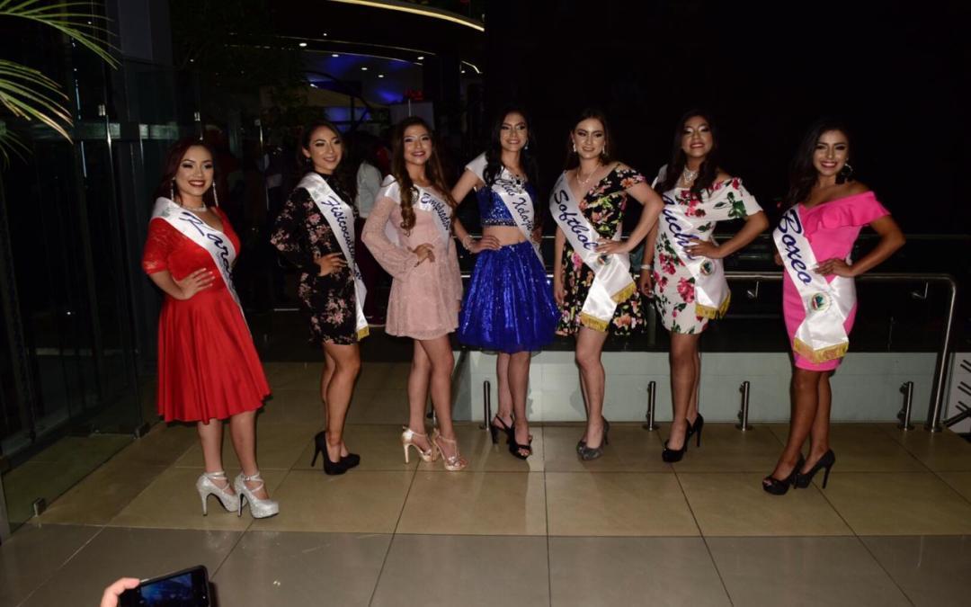 Presentación de candidatas a Reina del Deporte de Quetzaltenango