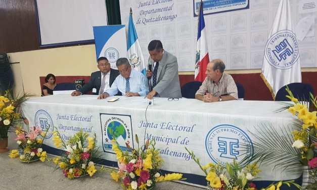 Abstencionismo marca comicios en Quetzaltenango