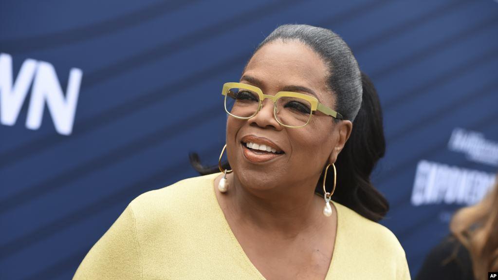 2020: Oprah Winfrey de gira por la salud