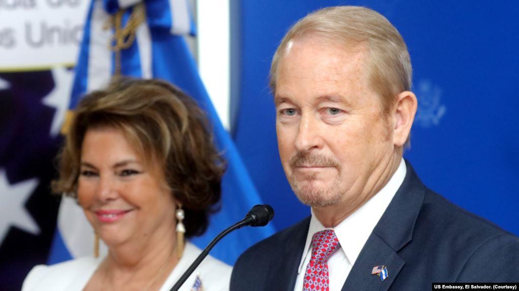 Nuevo embajador de EE.UU. en El Salvador promete fortalecer combate a la corrupción